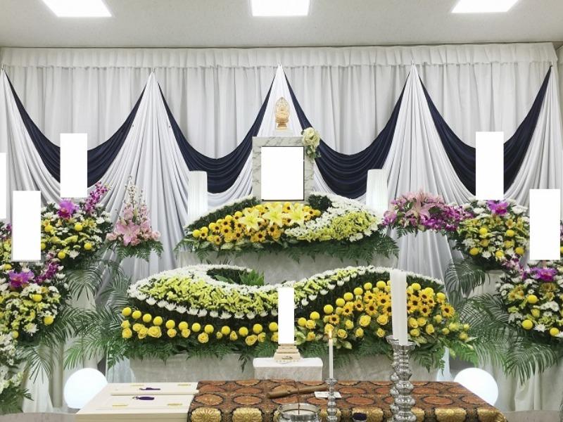 桐ヶ谷斎場 祭壇画像②
