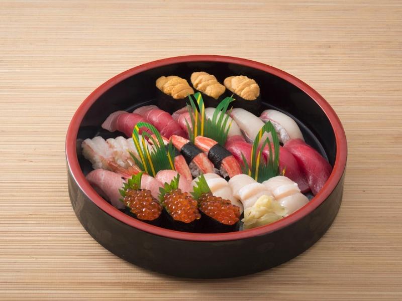 特上江戸前寿司