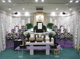 創価学会 友人葬プラン祭壇画像