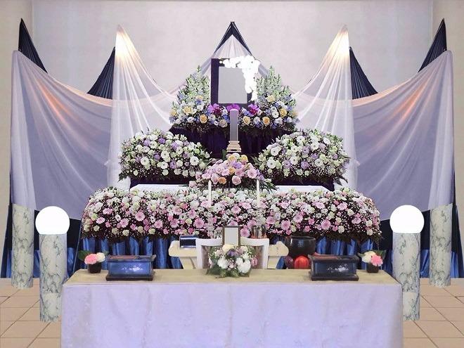 一般葬ECOプラン祭壇画像