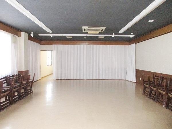 寶亀閣斎場 第一式場 式場内風景①