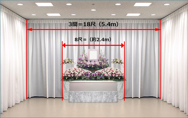 8尺祭壇説明イメージ