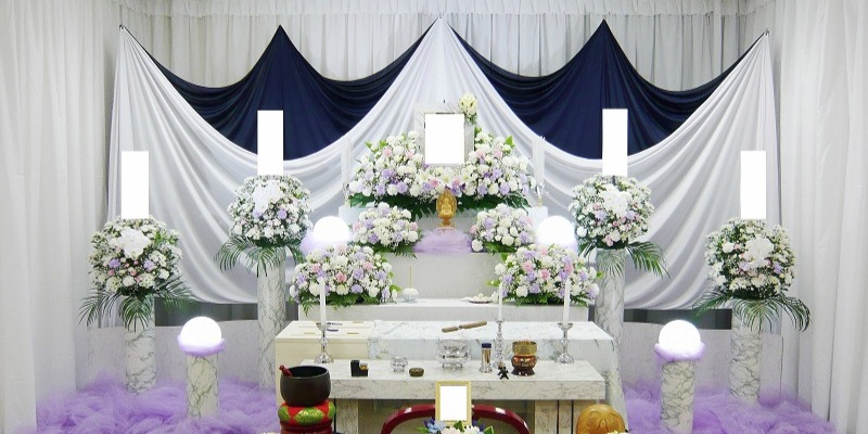 家族葬ECOプラン祭壇