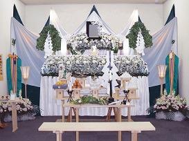 神葬祭プラン祭壇画像