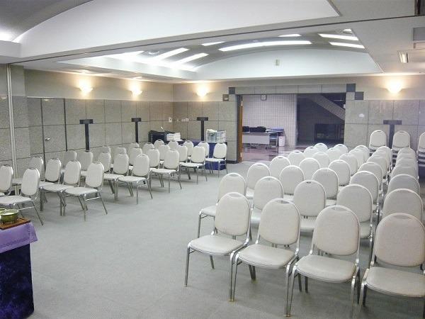 南多摩斎場 第三式場 式場内風景②