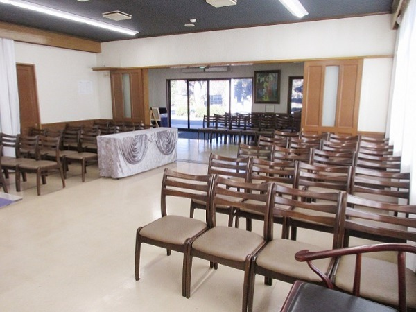 寶亀閣斎場 第一式場 式場内風景②