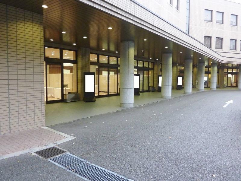代々幡斎場 式場外観