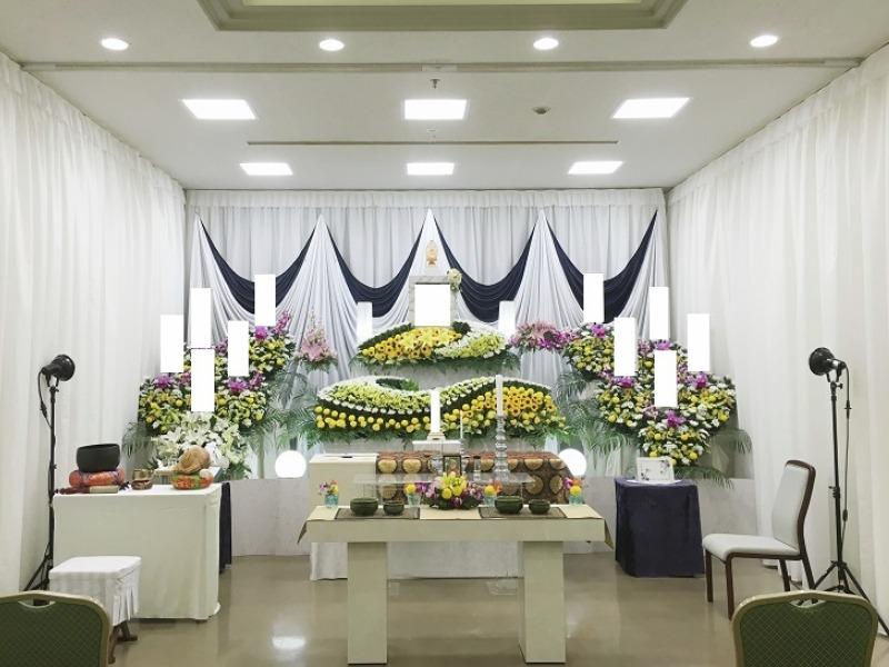 桐ヶ谷斎場 祭壇画像①