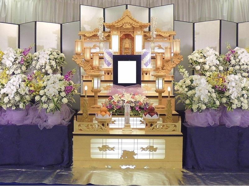 白木祭壇(袖なし)