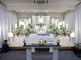 家族葬ECOプラン祭壇画像