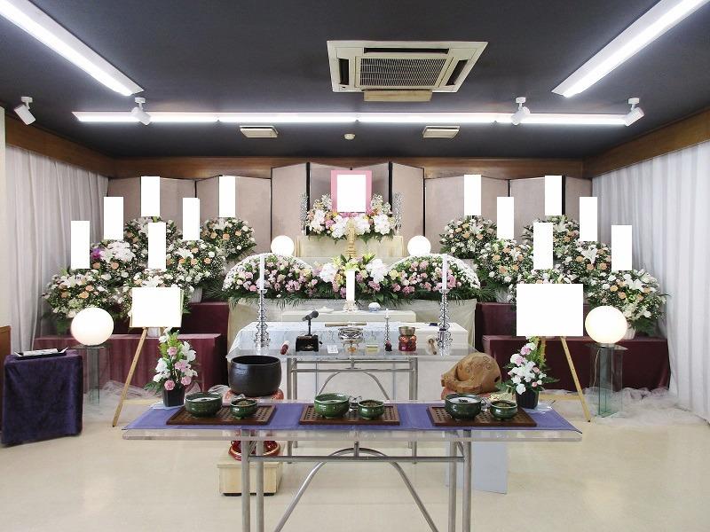 寶亀閣斎場 祭壇画像①