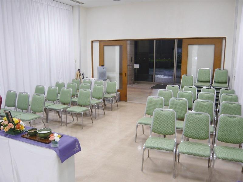 堀ノ内斎場 雪の間 式場内風景②