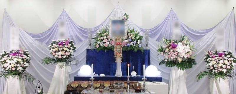 遺影写真まわり祭壇②