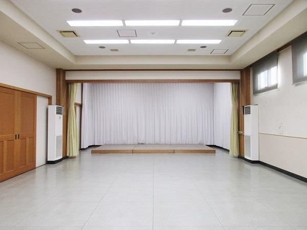 最勝寺 檀信徒会館 式場内風景①