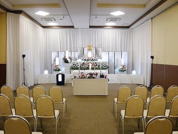 東本願寺 慈光殿  式場内風景①