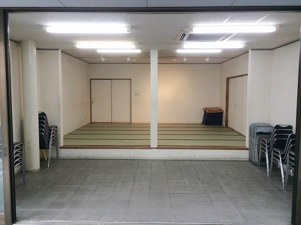 瀧田会館 式場内風景①