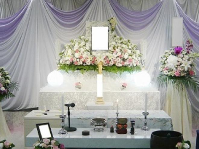 おみおくり葬ECOプラン祭壇写真