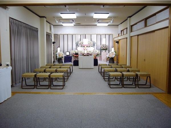 萬福寺会館 式場内風景①