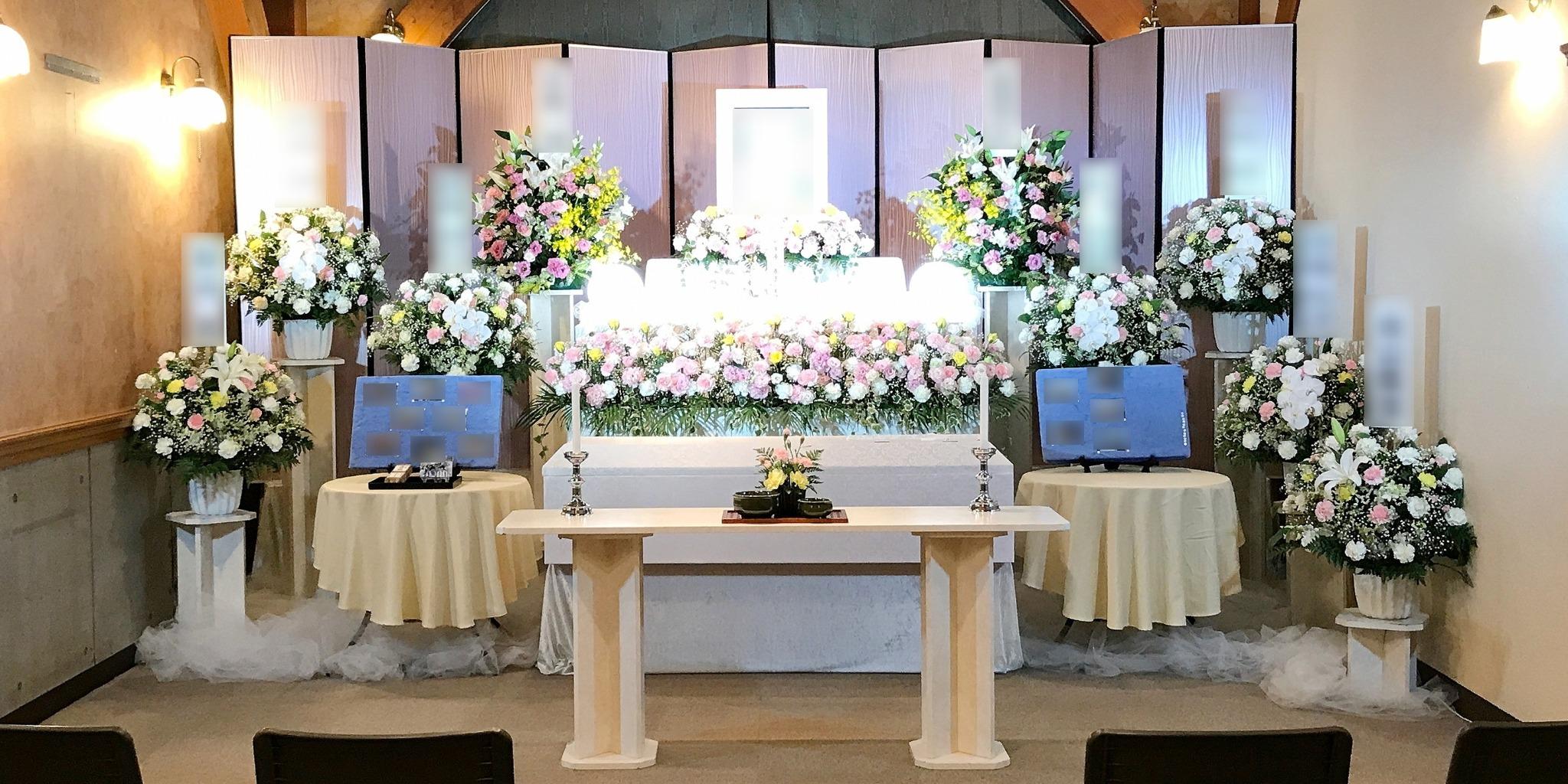 家族葬ECO《プラス》祭壇②