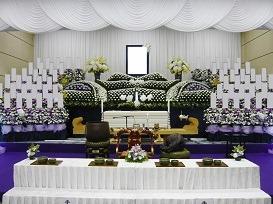 社葬プラン祭壇画像