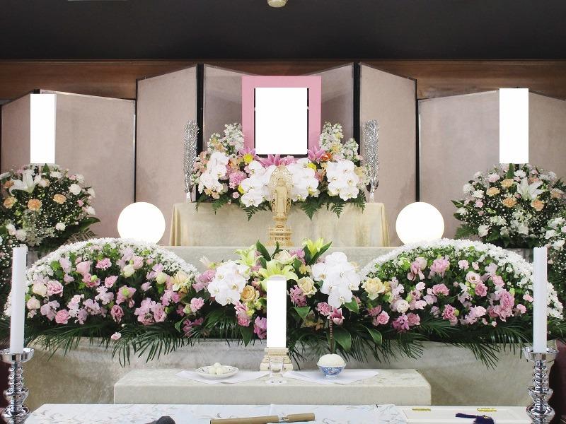 寶亀閣斎場 祭壇画像②