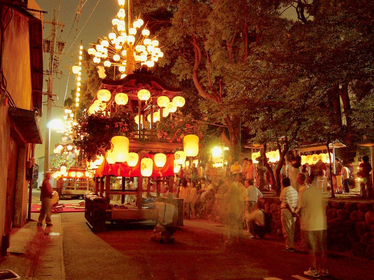 稲沢市 こがし祭り