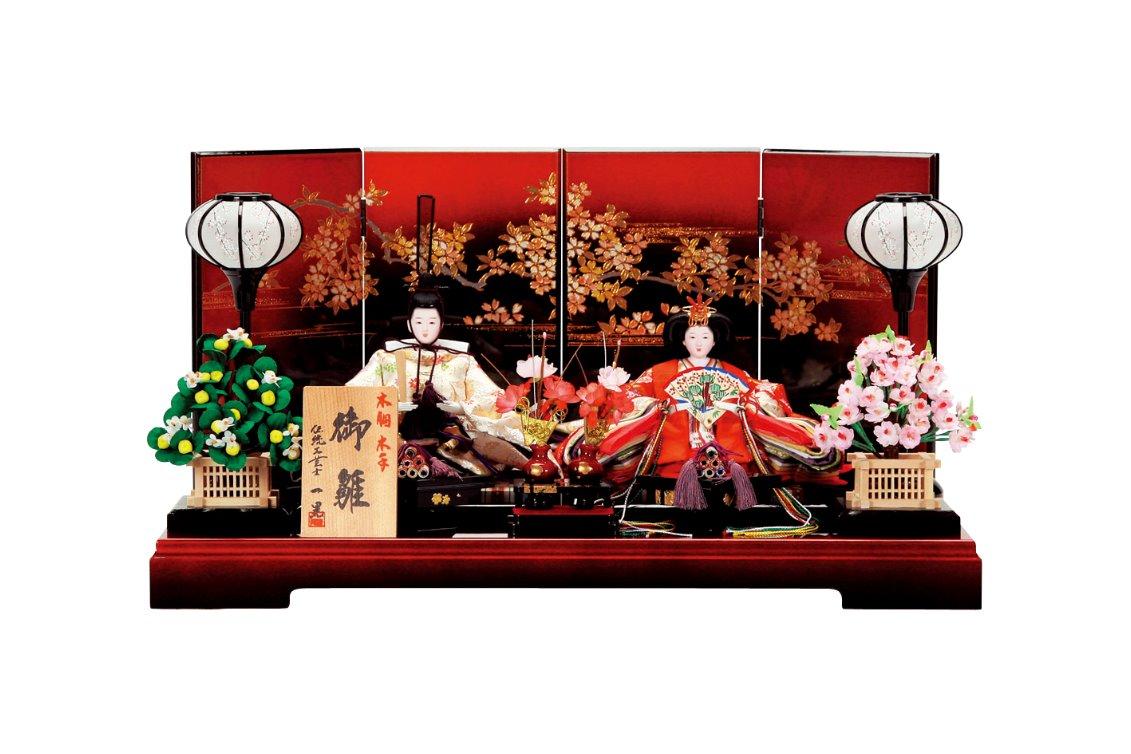 会津塗2A3004親王飾り
