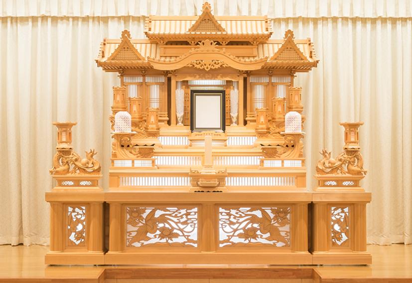 白木祭壇3号
