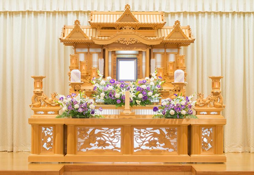 装飾生花祭壇2号