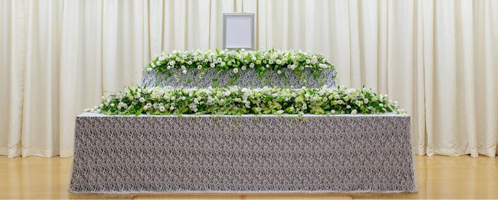 家族葬プラン79祭壇