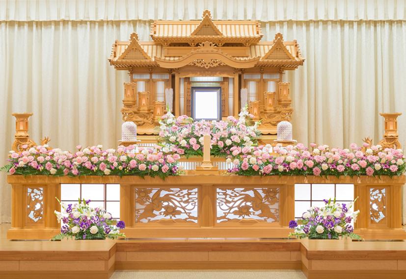 装飾生花祭壇4号