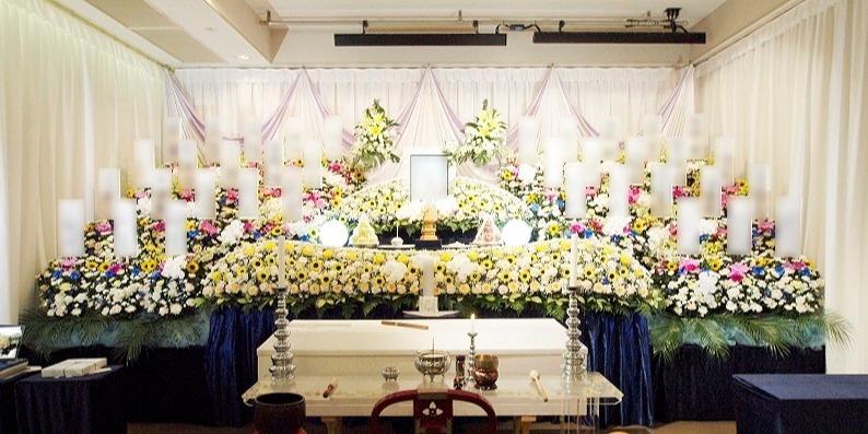 一般葬ECOプラン祭壇①