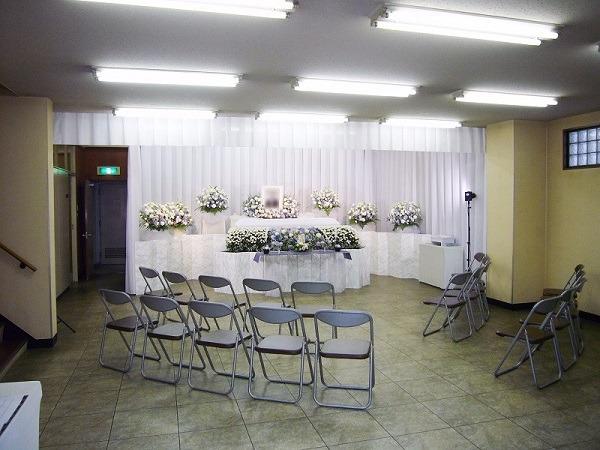 法専寺 信徒会館 式場内風景①