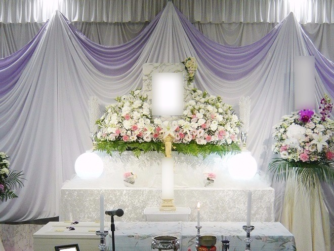 おみおくり葬ECOプラン祭壇画像