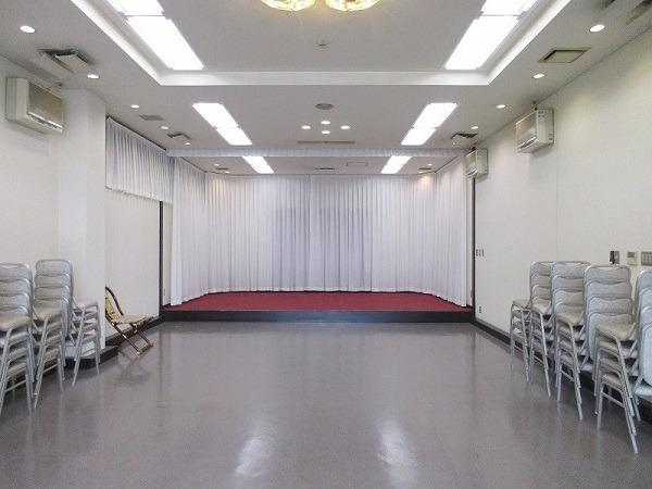 戸田葬祭場 別館 式場内風景①