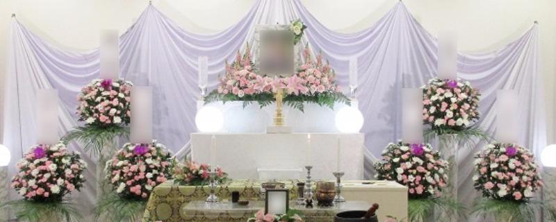 遺影写真まわり祭壇⑤