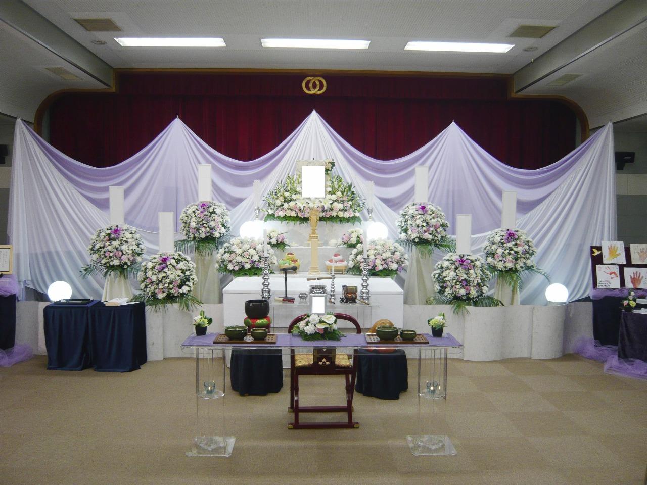 板橋区K様 祭壇画像
