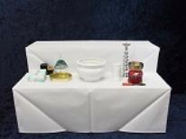 枕飾り祭壇画像
