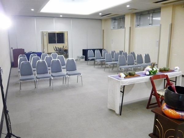 松戸市斎場 第1式場 式場風景②