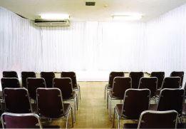 東高野会館 1階小斎場 式場内風景