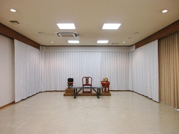 東高野会館 別館① 式場風景