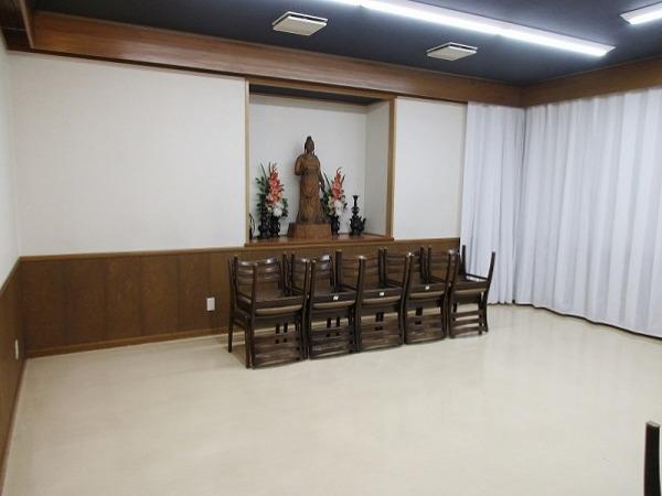 寶亀閣斎場 第二式場 式場風景①