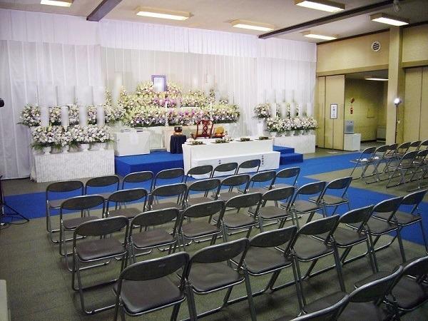 法専寺 同朋会館 式場内風景①