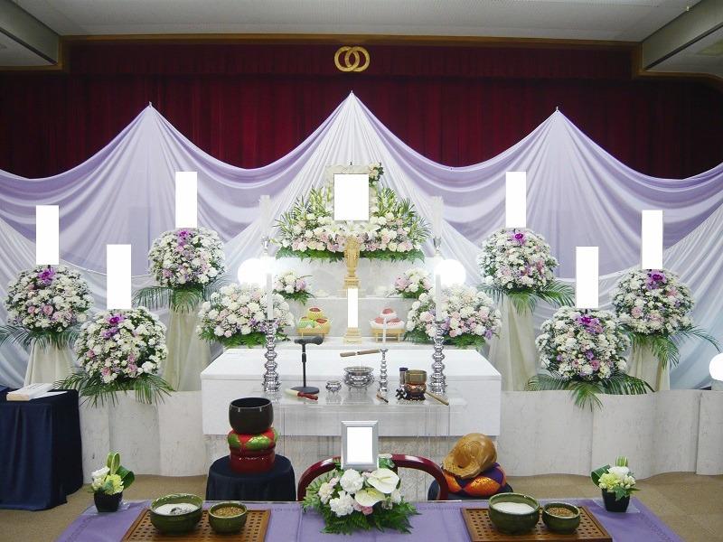 常楽院ホール 祭壇画像②