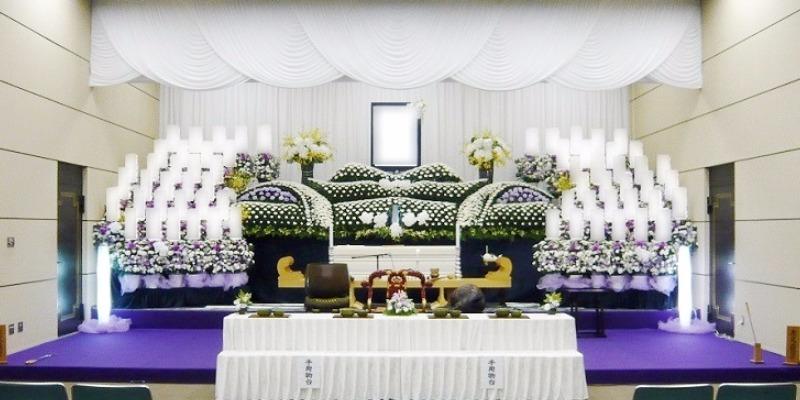 社葬プラン祭壇