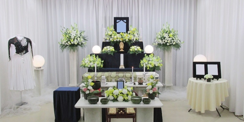 代々幡斎場 祭壇施行事例
