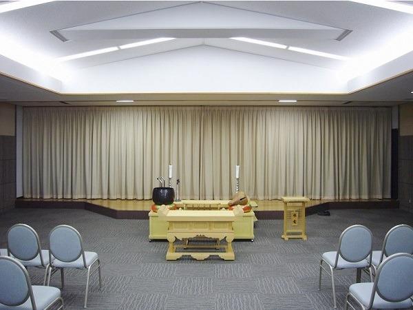 南多摩斎場 第一斎場 式場内風景①