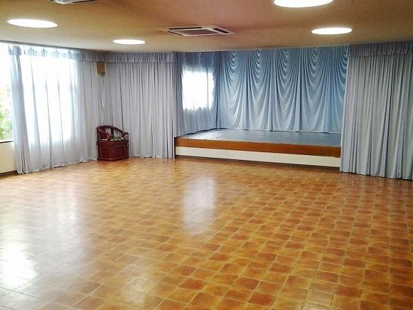 円福寺 双樹堂 1階A斎場 式場内風景①