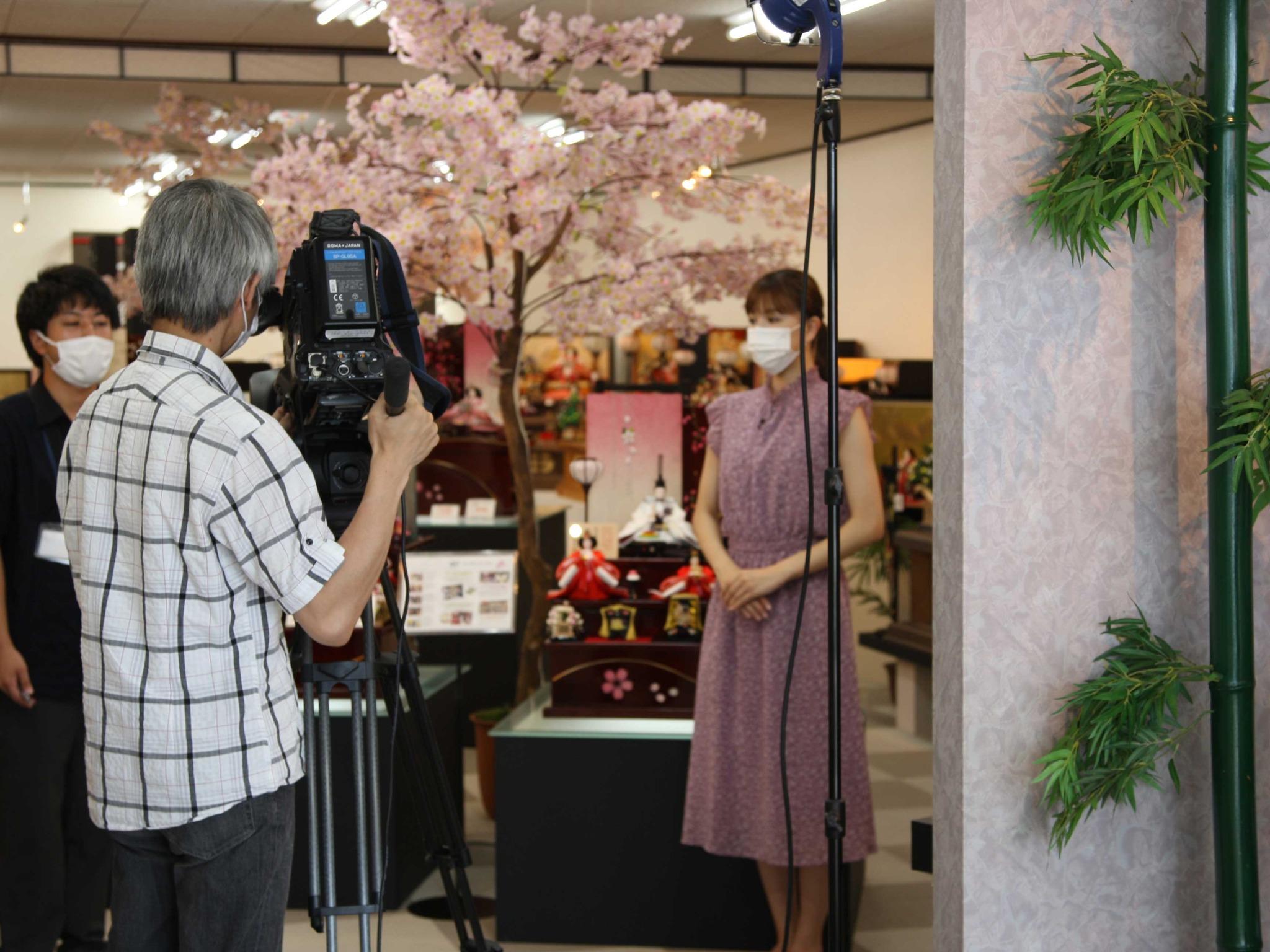 名古屋TV 撮影風景