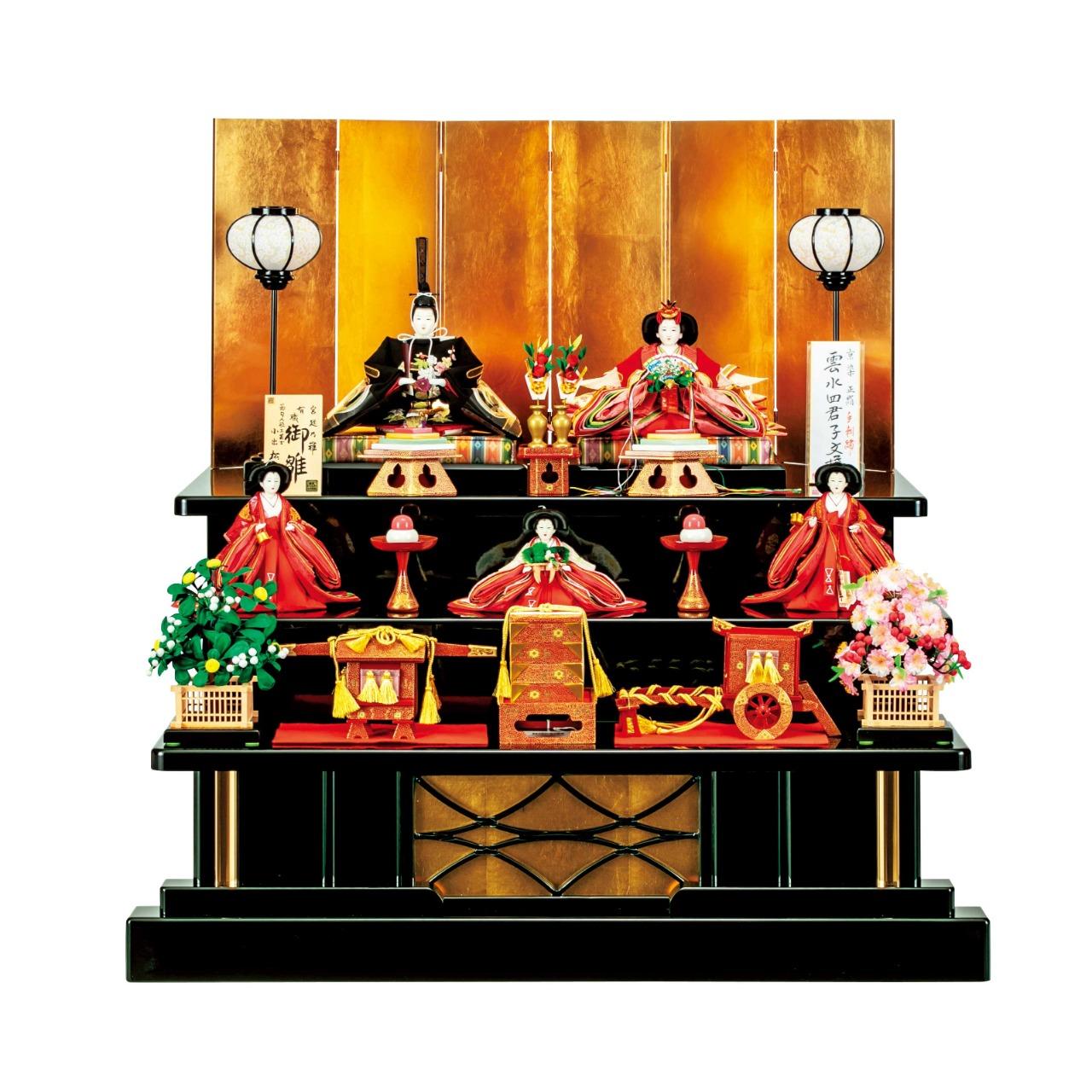 京極五人飾り